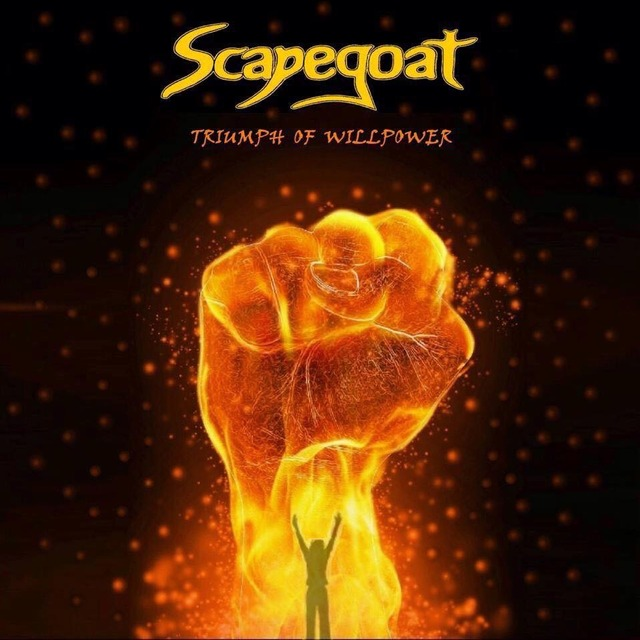 Triumph of Willpower - Scapegoat Album Cover